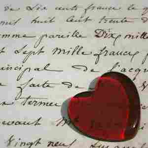 Love letters straight from your heart