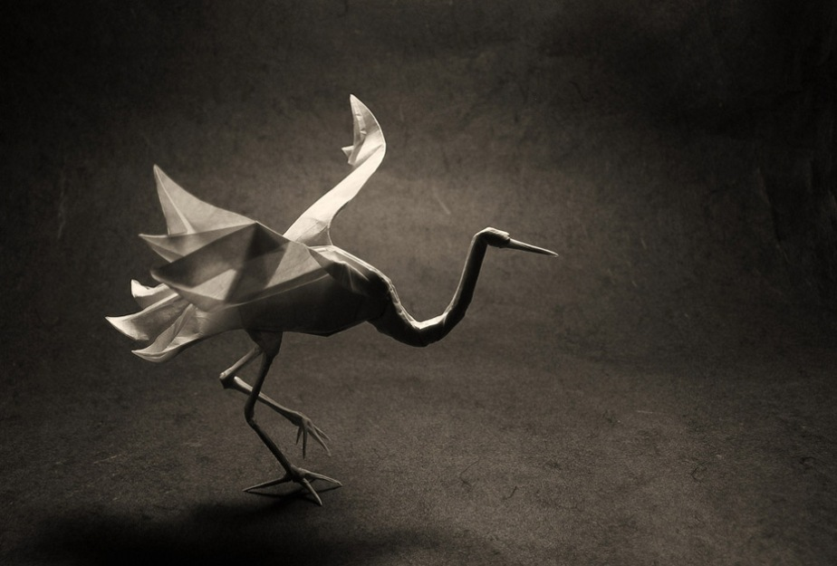 Ceremonial Cranes (an out-and-aboutpoem)