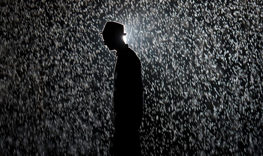 Rain-Walking (a pantoum)