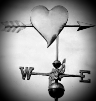 My Heart, the Weather Vane (a shadorma)