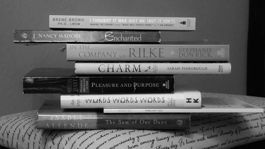 From My Bookshelf (foundpoetry)