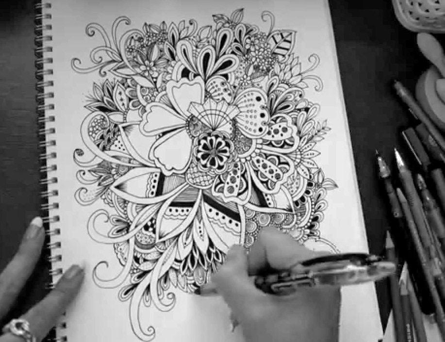 Doodle (a #NaPoMo #APRPAD rondeaupoem)